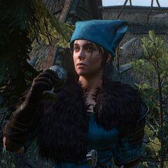 Clan Tuirseach shieldmaiden