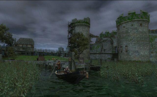 File:Painting Geralt crossing to swamp.jpg