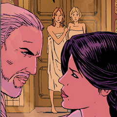 Yennefer in <i>The Witcher: Curse of Crows</i> comics