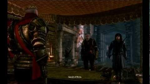 Audience with King Radovid - For Temeria! (The Witcher 2 cutscenes) HD