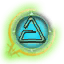 Game Icon Aard symbol selected