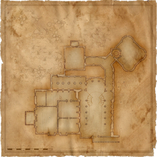 map in <i>The Witcher</i>