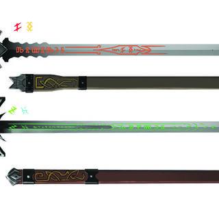 Erland's witcher swords