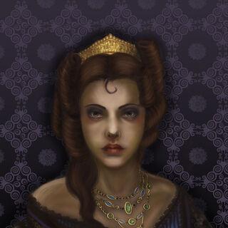Анна-Генрієтта, арт у виконанні Ichuarraquax