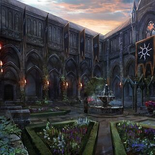 Royal palace occupied by Nilfgaard during <a href=