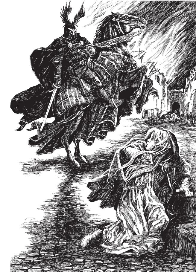 Witcher Cintra