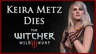 Witcher 3 Killing Keira Metz and Destroying Alexander's Notes