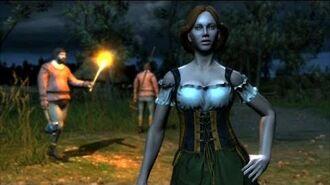 Vesna Hood Geralt Banged Pretty Waitress at the Mill (Witcher 1)