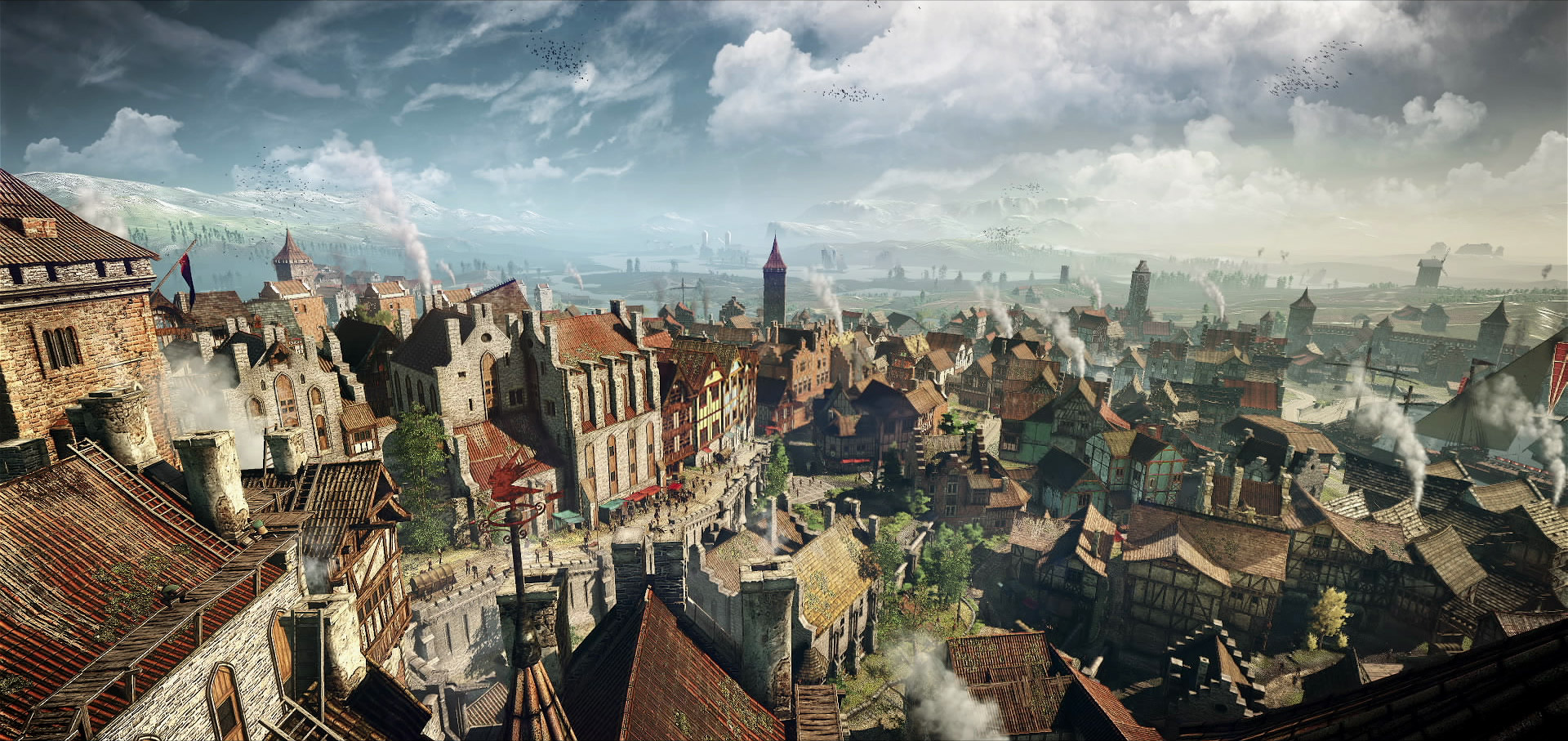 Image result for novigrad the witcher
