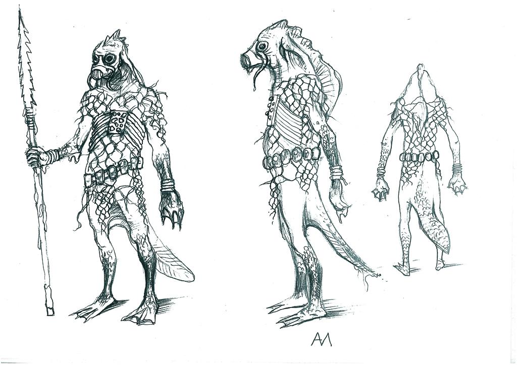 Vodyan Warrior