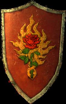 NPC Armor Order shield red