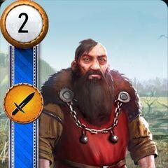 Ярпен Зігрін у грі «Відьмак 3: Дикий Гін» («Гвинт»)