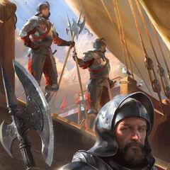 Radovid's royal guards