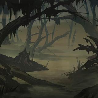 Angren's swamps