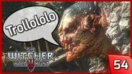 Trollololo! Witcher 3 - KILL THE ROCK TROLL - The Volunteer Quest - Story and Gameplay 54 PC