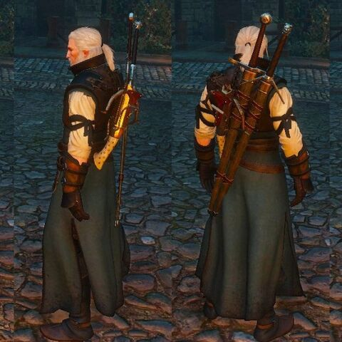 Witcher  Crafting Hardened Leather