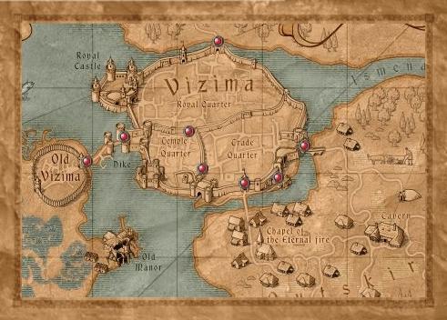Image map vizima gatesg witcher wiki fandom powered by wikia filemap vizima gatesg gumiabroncs Choice Image