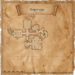 Map Strigas crypt