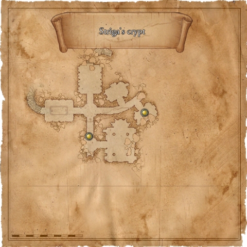 Map of the Striga's crypt