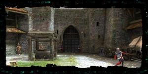 Places Trade Quarter gate