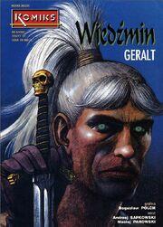 Komiks Geralt okladka