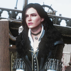 Yennefer during <i>The Last Wish</i>