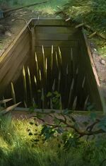 Gwent cardart scoiatael pit trap