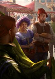 Gwent cardart syndicate townsfolk