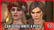 The Witcher 3 - Geralt Writes Drama Plays with Pricilla - Story and Gameplay 92 PC
