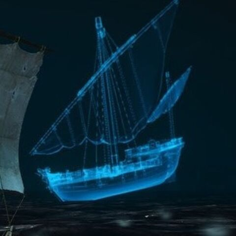 Ghost ship in <i><a href=