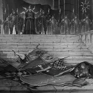 Emperor Emhyr var Emreis, as triumphant in <a href=