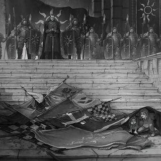 الإمبراطور منتصرًا بالحرب في نوفيغراد