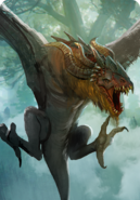 Tw3 cardart monsters wyvern