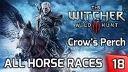 Witcher 3 All Horse Races at Crow's Perch - Story & Gameplay Walkthrough 18 PC