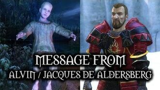 The Witcher 3 Wild Hunt - Message From Alvin Jacques de Aldersberg