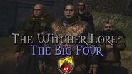 The Legends of The Witcher The Big Four