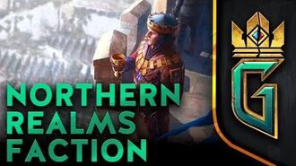 BETA VIDEO Northern Realms Faction GWENT The Witcher Card Game