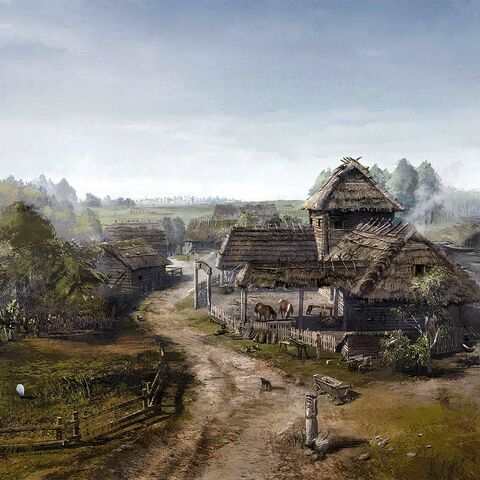 White Orchard concept art