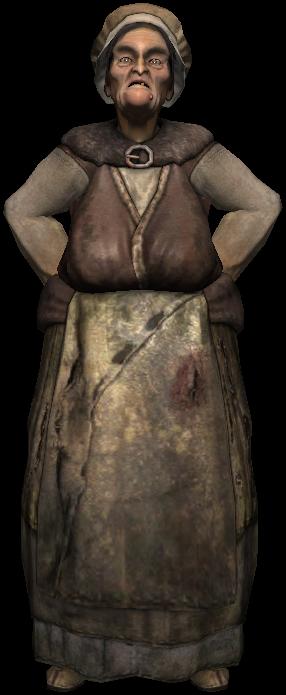 Vaska, l'anziana del villaggio