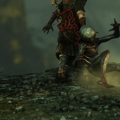 Nekker in uno dei filmati del videogioco