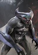 Tw3 cardart monsters vampire fleder