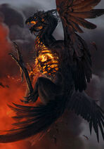 Gwent cardart neutral phoenix