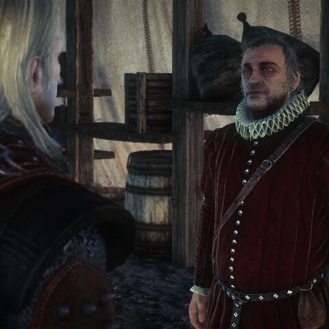 Майстер Мирон у грі «Відьмак 2: Вбивці Королів»
