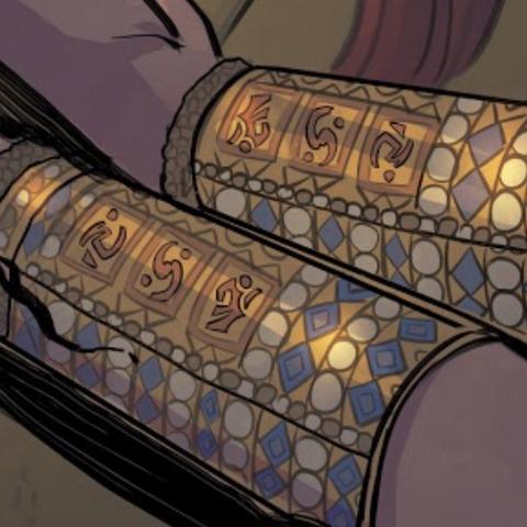 Bracelets with Ofir script