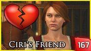 The Witcher 3 - Bea, Ciri's Friend Flirts with Geralt 167