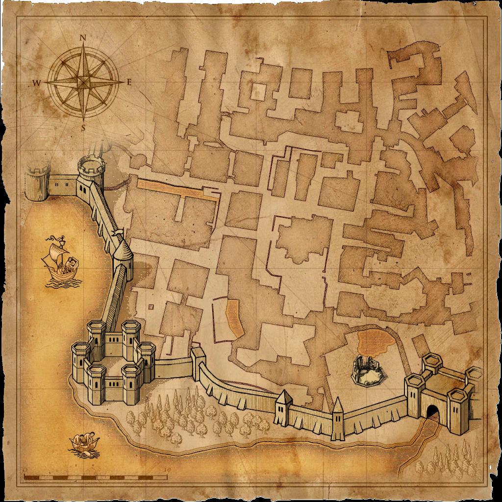 Image Map Vizima Temple Quarterpng Witcher Wiki FANDOM