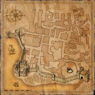 Mapa Chrámové čtvrti
