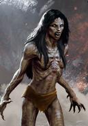 Tw3 cardart monsters vampire bruxa