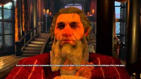 The Witcher 3- Hearts of Stone Yaromir dialogue tree