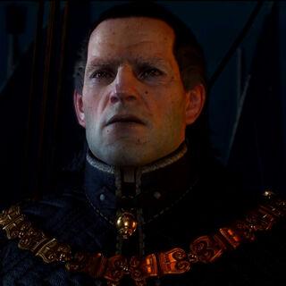 Імператор Емгир на борту свого флагману